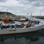 Die Fischerboot-Rundfahrten waren beliebt und so...