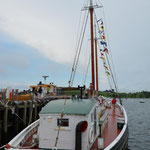 Ein weiteres Museumsboot - welcome aboard!