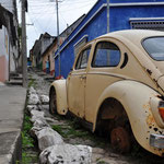 Claudio's Lieblings-Fotomotive sind VW-Käfer und VW-Busse :-)
