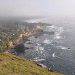 Mystische Stimmung an der Küste.