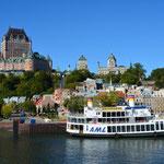"""""""Vieux Québec"""" - wir sind im Anflug."""