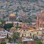 Ausblick vom Mirador auf die Stadt.
