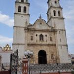 Die Kathedrale im Zentrum von Campeche.