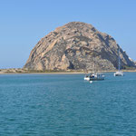 Morro Rock vor Morro Bay
