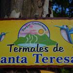 Die Termales de Santa Teresa bei Ahuachapán.