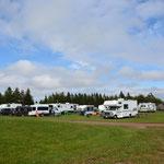 Wir gönnten uns einen Campingplatz.