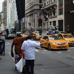 Der Kampf um freie Taxis.