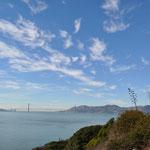 """Herrlicher Ausblick, jedoch nur, wenn man als """"Gast"""" auf Alcatraz war."""