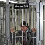 Wenn schon im Gefängnis, dann BITTE NICHT auf einem Schiff!!!