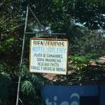 Hier gibt's auch (noch) Schildkröteneier zum Essen... NEIN DANKE!