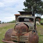 """Dieses Auto erinnerte uns irgendwie an den Film """"Cars""""."""
