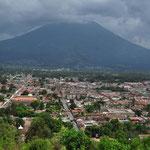 Vom Cerro de la Cruz hat man einen tollen Ausblick auf die Stadt.