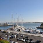 Einer der Häfen von San Diego mit Luxus-Yachten.