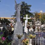Mexiko's Friedhöfe sind farbenfroh.