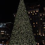 Weihnachtsbaum am Union Square.