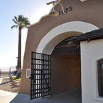 Eingangstor zum Gefängnis.