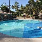 Bisher der schönste (und wohl auch sauberste) Pool in Mexiko.