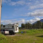 Privater Campingplatz - der Beste in Smithers :-))