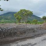 Vor wenigen Wochen gab es auf der Insel Erdrutsche nach heftigen Regenfällen.