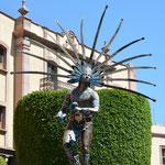 Statue eines Indios.