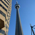 Der CN Tower, Wahrzeichen von Toronto.
