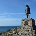 Die Statue des italienischen Seefahrers Giovanni Caboto (John Cabot).