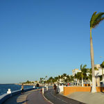 Bereits bei unserem ersten Besuch hatte uns der kilometerlange Malecón in Campeche sehr gefallen.