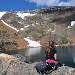 Der Crater Lake - Mosquito Lake wäre da passender. Grrrr, Mistviecher!!!