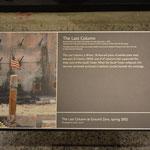 Die Geschichte der letzten Säule, Symbolbild für die Aufräumarbeiten.