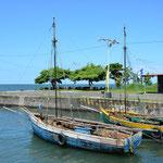 Am Hafen in Altagracia lief bei unserem Besuch nicht viel.