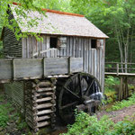 Die Cable Mill in Cades Cove.