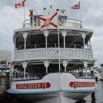 Mit der Jungle Queen gehts auf eine Bootsfahrt durch die Wasserstrassen von Fort Lauderdale.