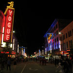 Nightlife on Granville Street