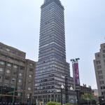 Der Torre Latinoamericana war bis 1972 das höchste Gebäude in Mexiko-Stadt.