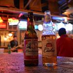 Kühles Bier und Cider - wärmende Getränke :-)
