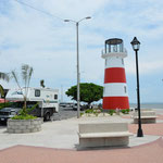 Der Leuchtturm in Puntarenas, wohl das Schmuckstück der Hafenstadt.