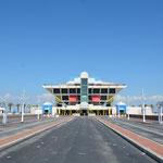 Der einsturzgefährdete Pier wartet auf die Wiedergeburt in Form eines noch unbestimmten Projektes.