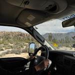 Das Autofahren in Mexiko ist gewöhnungsbedürftig.