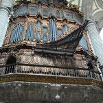 Nicht nur die Kathedrale, auch die Orgeln sind riesig...
