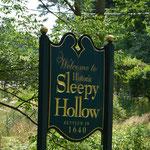 Sleepy Hollow - verschlafene Höhle. Es existiert auch eine Fernsehserie mit diesem Namen.