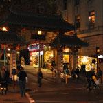 Das Eingangstor zur China Town.