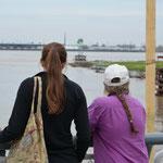 Mit der Fähre gelangten wir ins Zentrum von New Orleans.
