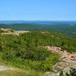 Das Wetter meinte es gut mit uns im Acadia Nationalpark.