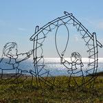 Auf den Spuren der früheren Bewohner Neufundlands.