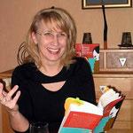 Dagmar Schmidbauer auf einer Lesung ...