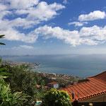 Blick auf´s Meer und die Ponta Sao Lourenço