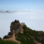 Wanderung zum höchsten Gipfel - Pico Ruivo