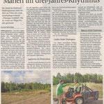 2020 10 13 Hildburghäuser Heide: Mähen im drei-Jahres-Rhythmus