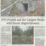 2017 03 31 FFH-Projekt auf der Langen Heide wird heuer abgeschlossen