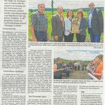 2016 06 22 Eine Zukunft für Bachmuschel, Steinkrebs, Steinkauz und Co., Eröffnung Natura 2000-Station Grabfeld